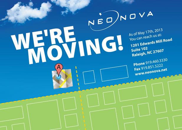 NeoNova Moving Mailer