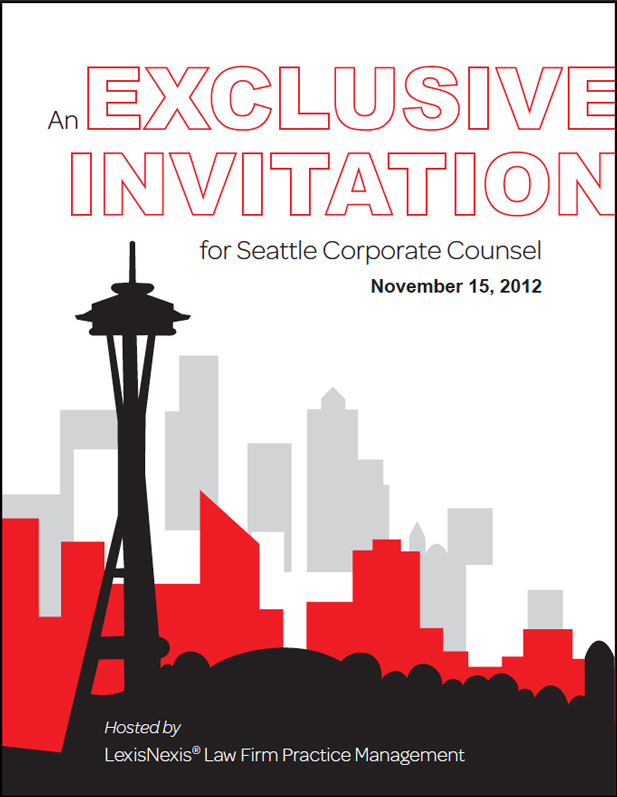 LexisNexis Event Invite