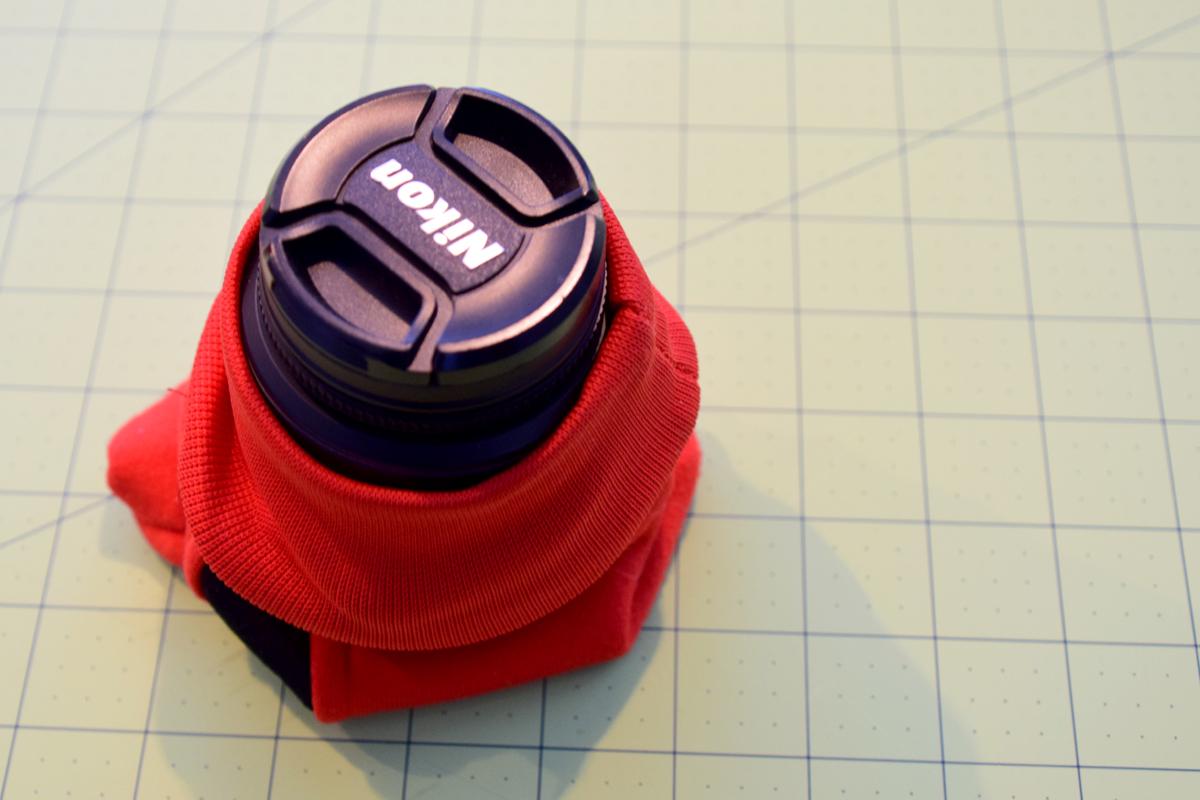 sleeve-on-lens