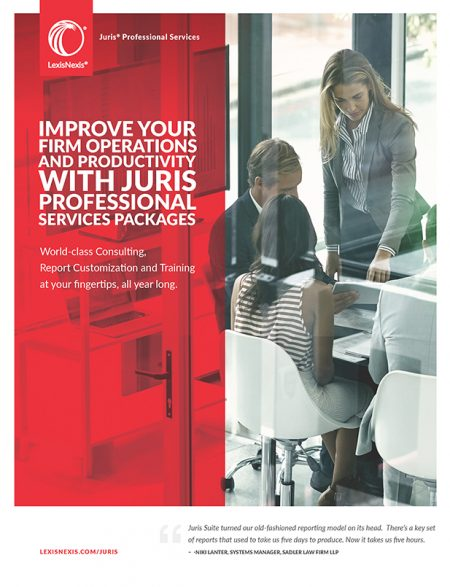 Juris Professional Services Sales Sheet
